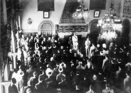 Ceremony in Jerusalem, 1920 (PHPS\1339337)