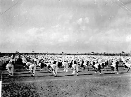 Training excercises, the first Maccabiah of 1932 (PHG\1011941)