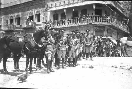 Nabi Musa celebrations, 1932. British military police
