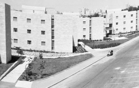 The Student Dorms in Mount Scopus, planned by David Reznik (NKH429899)