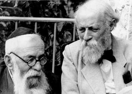 Rabbi Binyamin and Martin Buber